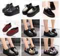 2016 New Fashion spring and Autumn Size 35-39 Creepers Shoes Woman platform shoes Vintage women flats shoes plus size creepers