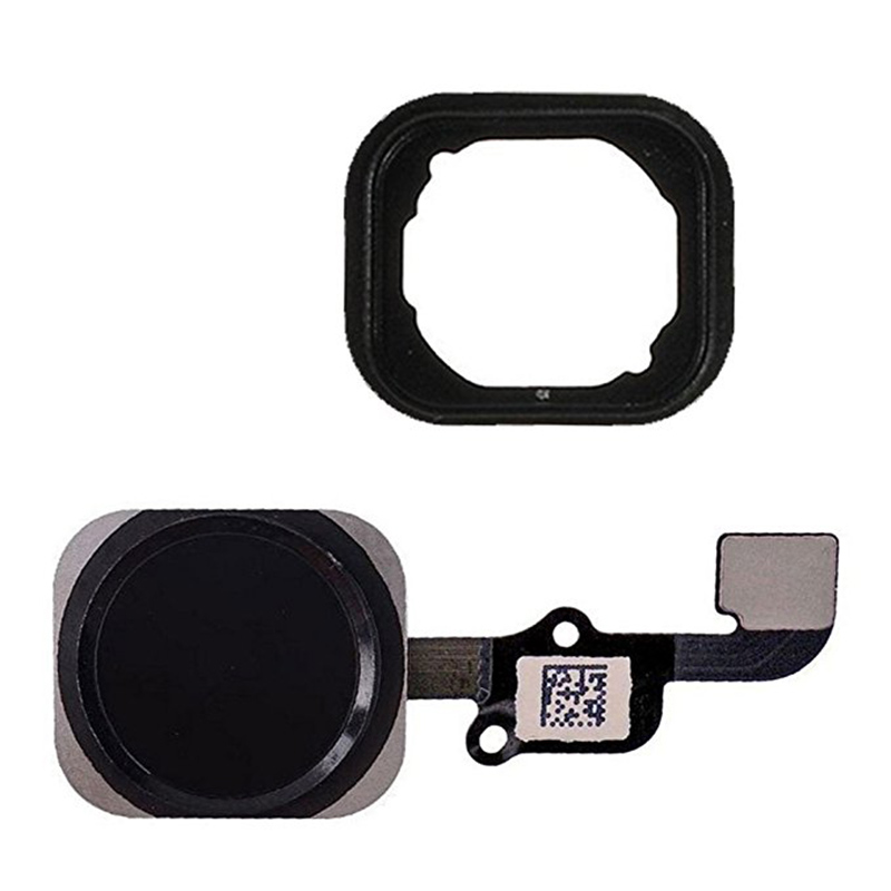 1pcs For Iphone 6 And 6 Plus Home Button With Flex Cable And Rubber Gasket Assembly