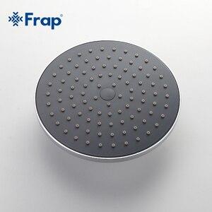 Image 3 - Frap 1 セット浴室の降雨シャワー蛇口セットミキサータップハンドスプレーでウォールマウントクロームF2416