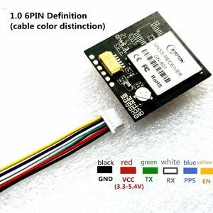 Image 2 - 3.3 5V TTL UAR GPS modale GN 801 GPS GLONASS, récepteur dantenne pour Module M8n GNSS, FLASH intégré, NMEA0183 FW3.01 TOPGNSS