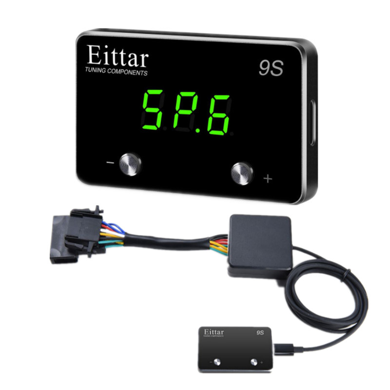 Electronic Throttle Controller Car Accelerator Gas Pedal Booster Pedal Commander Car styling For Cadillac Escalade EXT 2007 2011|Car Electronic Throttle Controller| |  - title=