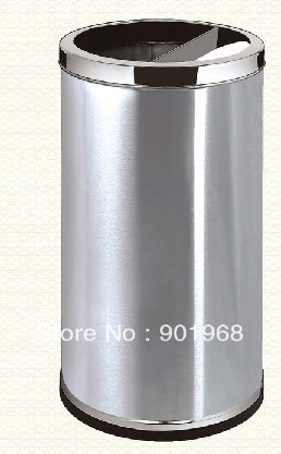 Hotel-HK style-free standing-stainless steel-hall ash bin-lobby ash can-trash can