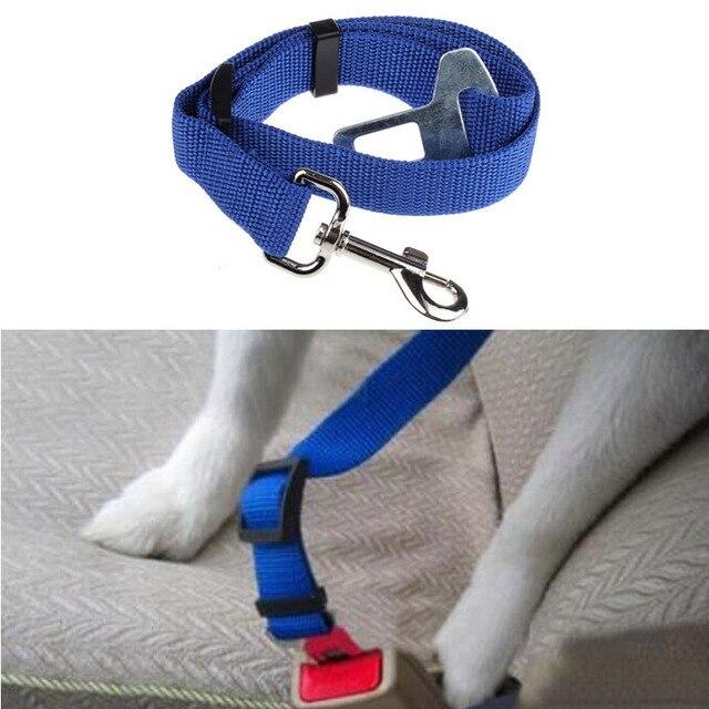 Leash for dogs correa perro Vehicle Car Seat Belt Seatbelt Harness Lead Clip Pet Cat Dog Safety Aug4#2