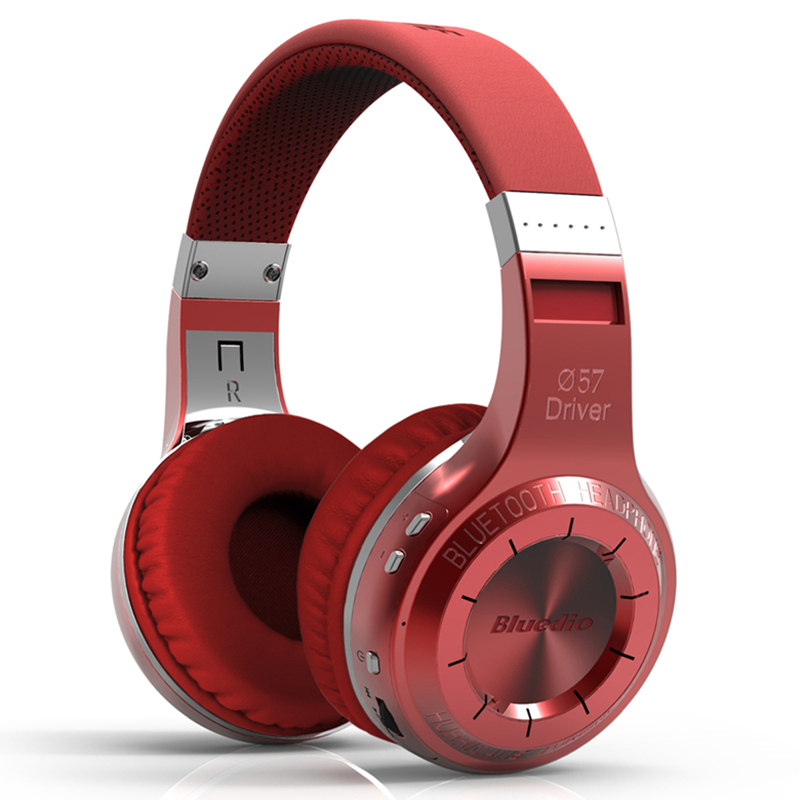 Bluetooth V4.1 wireless earphone headphone Bluedio HT 57mm drive unit bulit-in amplifier Powerful Bass noise cancelling