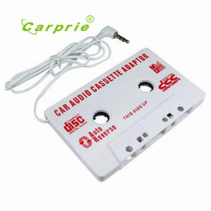 Audio Adapter For Iphone AUTO Universal Car Cassette Tape Ipod MP3 AUX CD 3.5 MM
