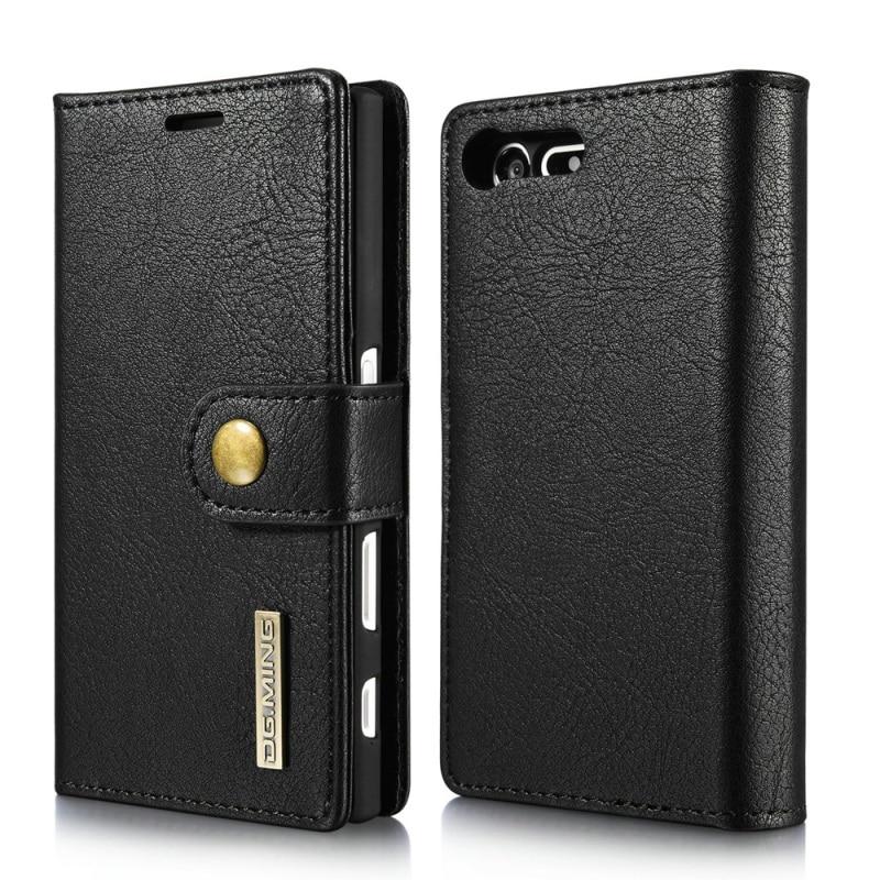 bilder für DG. MING für Sony Xperia X Kompakte Ledertaschen 2 in 1 Brieftasche Split Leder + Beweglichen PC Abdeckung für Sony Xperia X Kompakte Schale