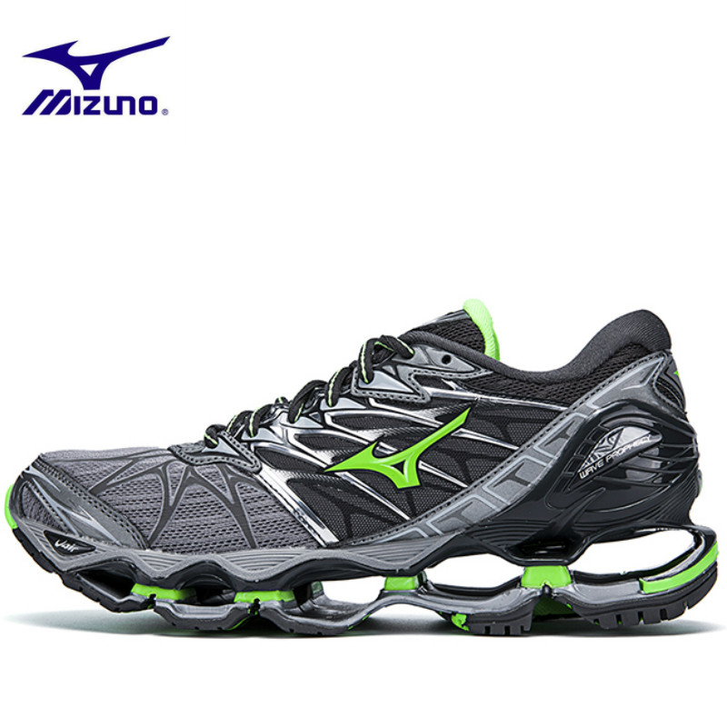 Mizuno Wave Prophecy 7 Professional Men Shoes Sneakers Breathable Mesh Casual Shoes Lace up Weightlifting Shoes