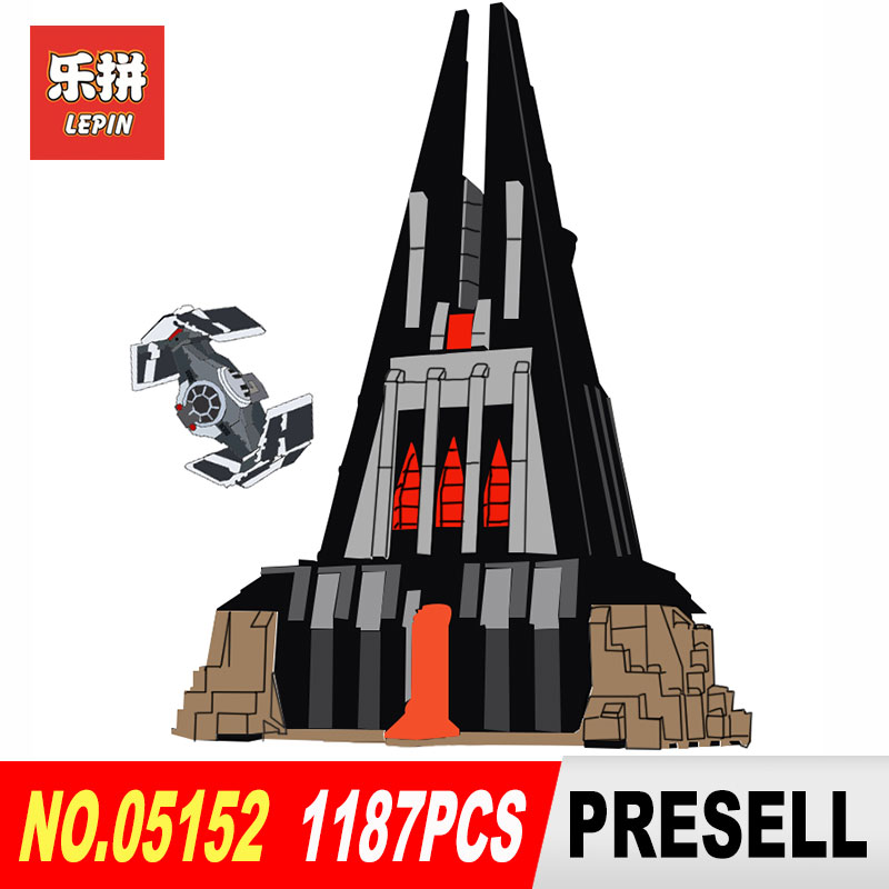 2018 Lepin 05152 Star Compatible With The 75251 Wars Darth Vader`s Castle Set Building Blocks Bricks Educational Toys DIY new 1685pcs lepin 05036 1685pcs star series tie building fighter educational blocks bricks toys compatible with 75095 wars
