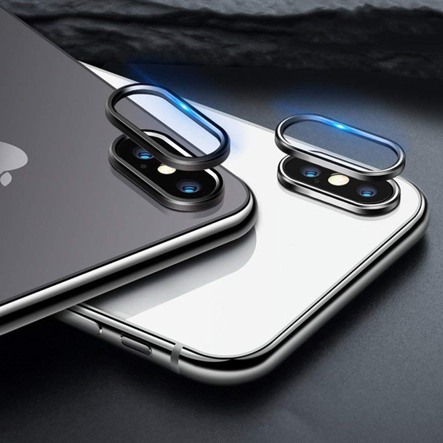 Camera Metal Lens Protector Ring For iPhone 11 Pro Max XS Max XR X 8