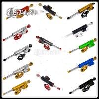 Motorcycle Steering Damper Stabilizer & Bracket For YAMAHA YZFR6 YZF R6 YZF R6 2006 2014 YZFR1 R1 2009 2010 2011