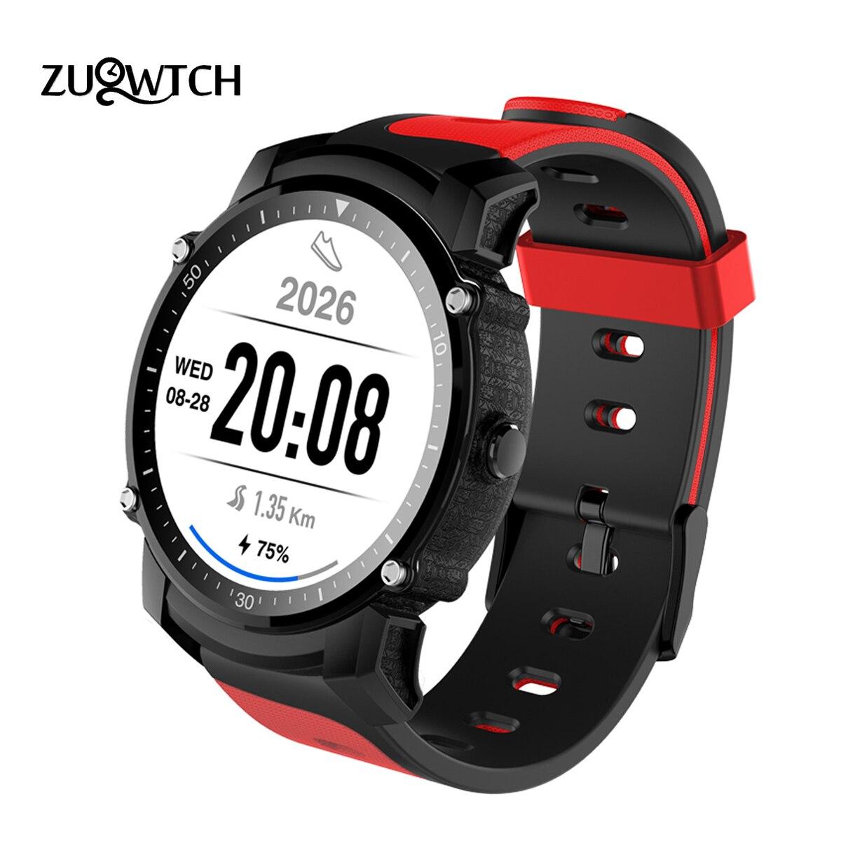 Smart Watch MTK2503 Bluetooth Smartwatch Sport Watch IP68 Waterproof Support GPS Barometer Compass Multi-mode Sport Smartwatch no 1 f2 ip68 bluetooth smartwatch green