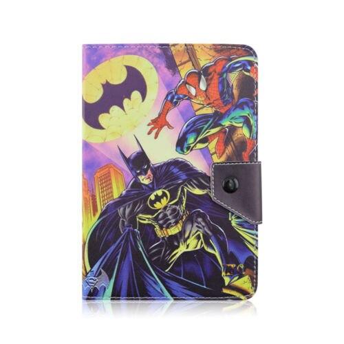 Batman Arkham Asylum Hero Justice League Superhero Folio Leather Cover Case for 7 inch 7.0 Samsung Galaxy Tab 3 Tab 4 Tablet 7