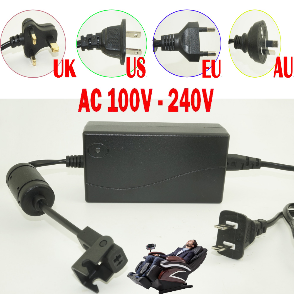 Terrific Us 14 95 12 Off Universal 29V 2A Electric Recliner Sofa Chair Charger Power Adapter Plug Transformer 2 Pin 110 Volts 220 Volts In Tool Parts From Short Links Chair Design For Home Short Linksinfo