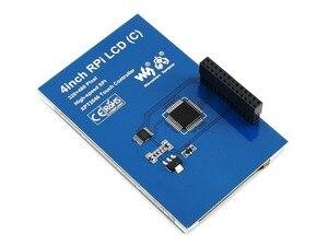 Image 4 - 4 дюймовый сенсорный экран TFT LCD для Raspberry Pi 4 дюймовый RPi LCD (C) 125 МГц высокоскоростной SPI резистивный сенсорный 480x320 Аппаратное Разрешение