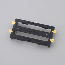 18650 Battery Cell Holder SMD Bronze Pins Shell Case Box Tab Dual Double 2X(China)