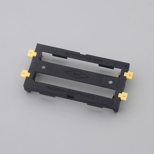 Image 2 - Dual 18650 Battery Cell Holder SMD Bronze Pins Shell Case Box Tab Dual Double