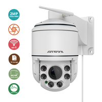 ATFMI 2MP Speed Dome IP Camera Outdoor 2 8 12mm Auto Focus Waterproof Night Vision Wireless