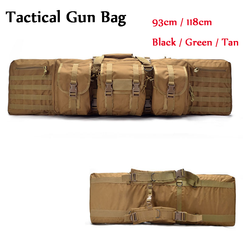Paintball Airsoft Gear Outdoor Hunting Bag Tactical Rifle Gun Carry Bag Large Loading Nylon Holster Shoulder Backpack 93cm/118cm