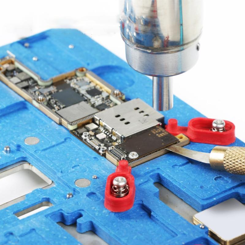 Купить с кэшбэком MJ K20 Multifunctional motherboard Repair fixture for iPhone X/XS/XS MAX multi-purpose Prevent Explosive Tin Repair clamp