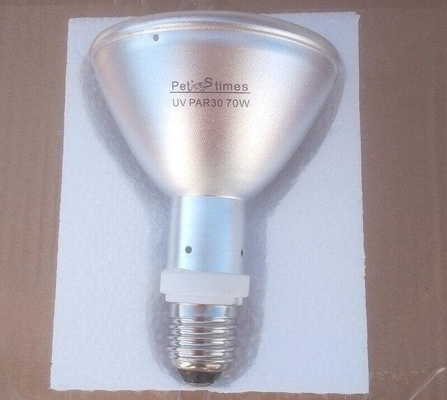 Elegant New Pet Lamps UVB UVA Reptile HID Lamp 70W PAR30 Metal Halide Lamp For  Reptile Lizards