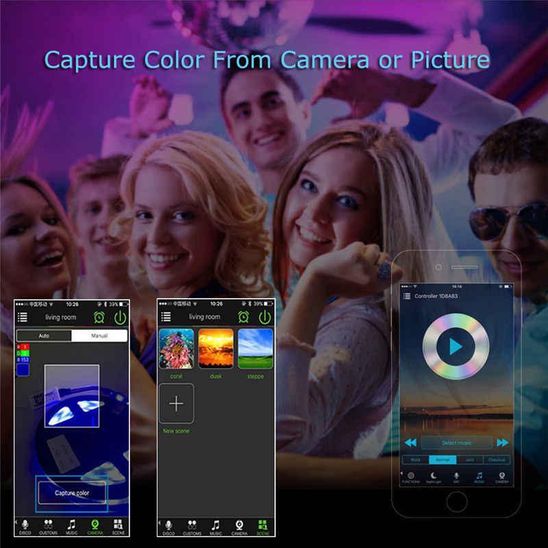 LED à la maison magique Bluetooth Wifi contrôleur adressable rvb cct RGBW à distance Amazon Alexa Google maison pour SK6812 WS2812B bande de LED