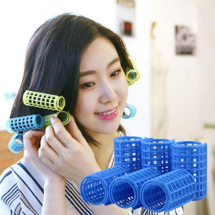 36mm hair curler Roll roller Twist Hair Care Styling stick DIY tools harmless safe plastic for lady girls female Extra large