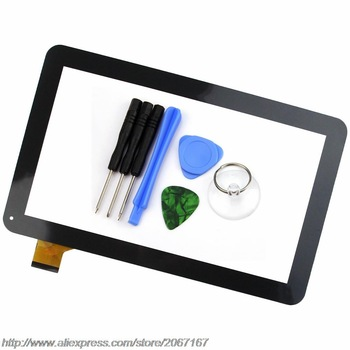 New 10.1 inch Touch Screen for Oysters T12 T12D T12V 3G Tablet Digitizer Sensor Replacement YCF0464-A Black/White