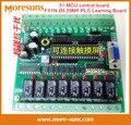 Rápido Envío Gratis PLC placa de control industrial PLC interno 51 junta de control de MCU FX1N 2N 20MR PLC Módulo de Aprendizaje