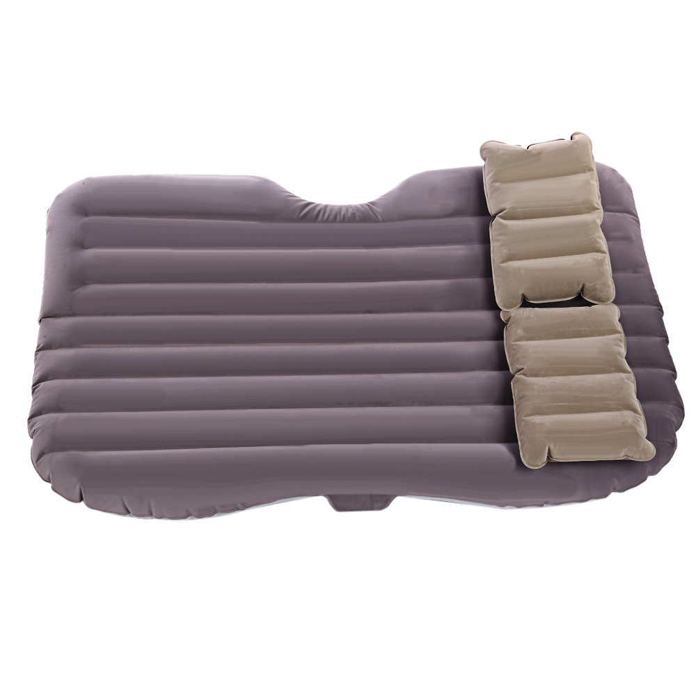Universal Car Air Inflation Mattress Bed Auto Back Seat Cover Car Inflatable Bed Wave Design With 2 Pillows Air Pump auto back seat organizer bags assorted