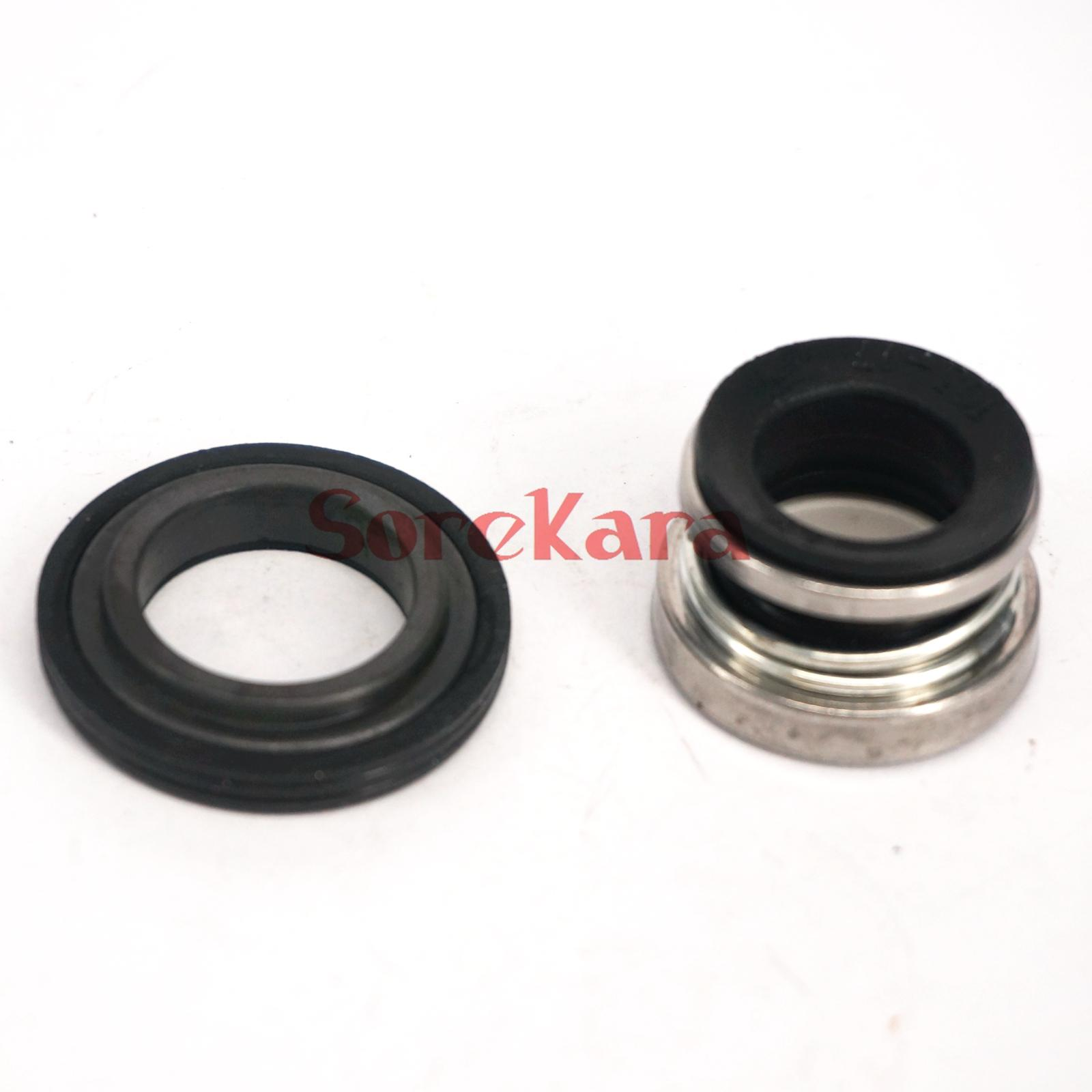 10-17mm Water Pump Mechanical Shaft Seal Single Coil Spring For Self-priming Pump  Clean Water Pump 0.5MPa