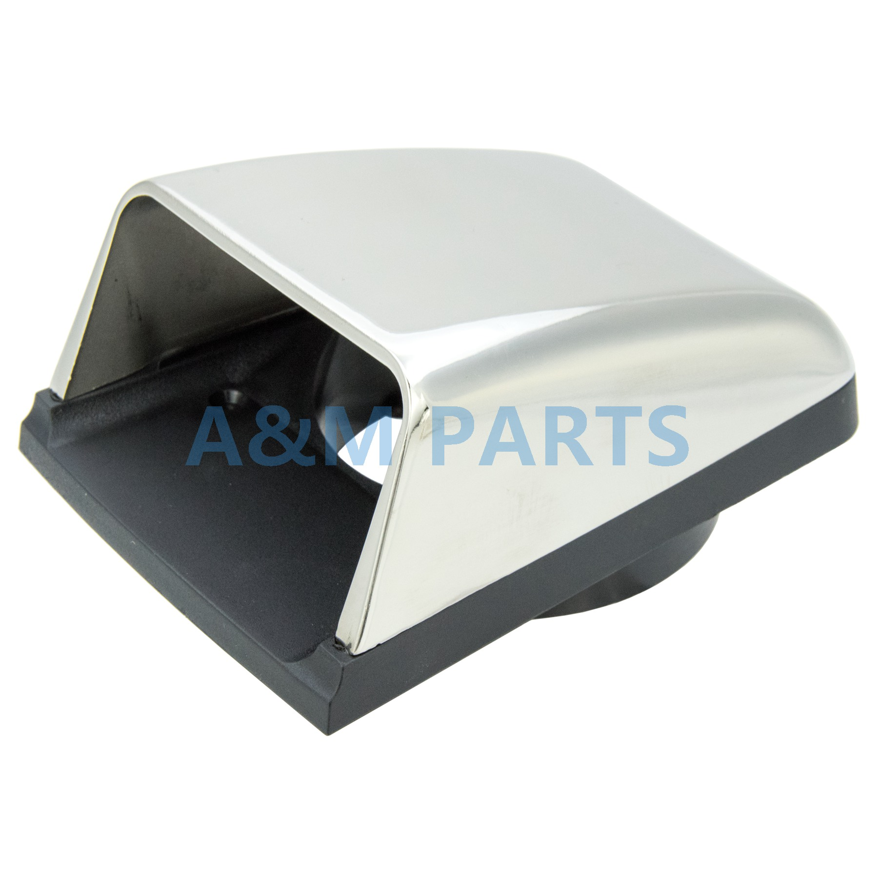 Stainless Steel Clam Shell Vent Marine Boat Cowl Air Vent With Base Hull Mount vent mount