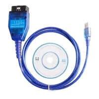 Línea de prueba de Cable de diagnóstico Software For409 KKL USB + Fiat Ecu interfaz coche ecus fácil de operar la herramienta de exploración de 4 interruptor