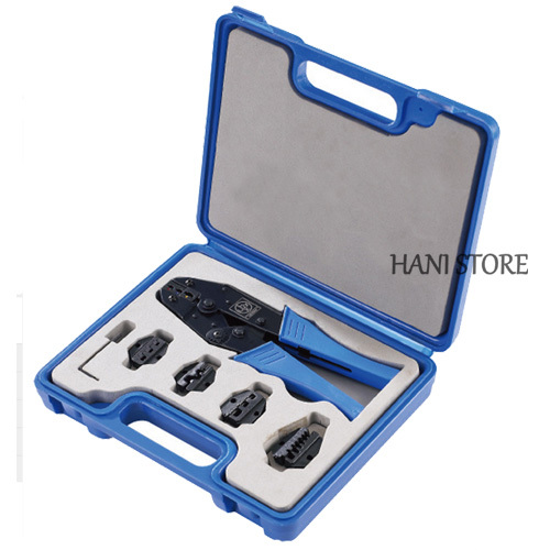 ly03c 5d3 crimping tool kit combination tool sets terminal crimping tool with replaceable dies. Black Bedroom Furniture Sets. Home Design Ideas