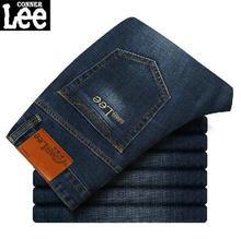CONNER LEE hot Fashion jeans men Casual jean pants skinny denim pants mens jeans homme pantalones vaqueros farkut