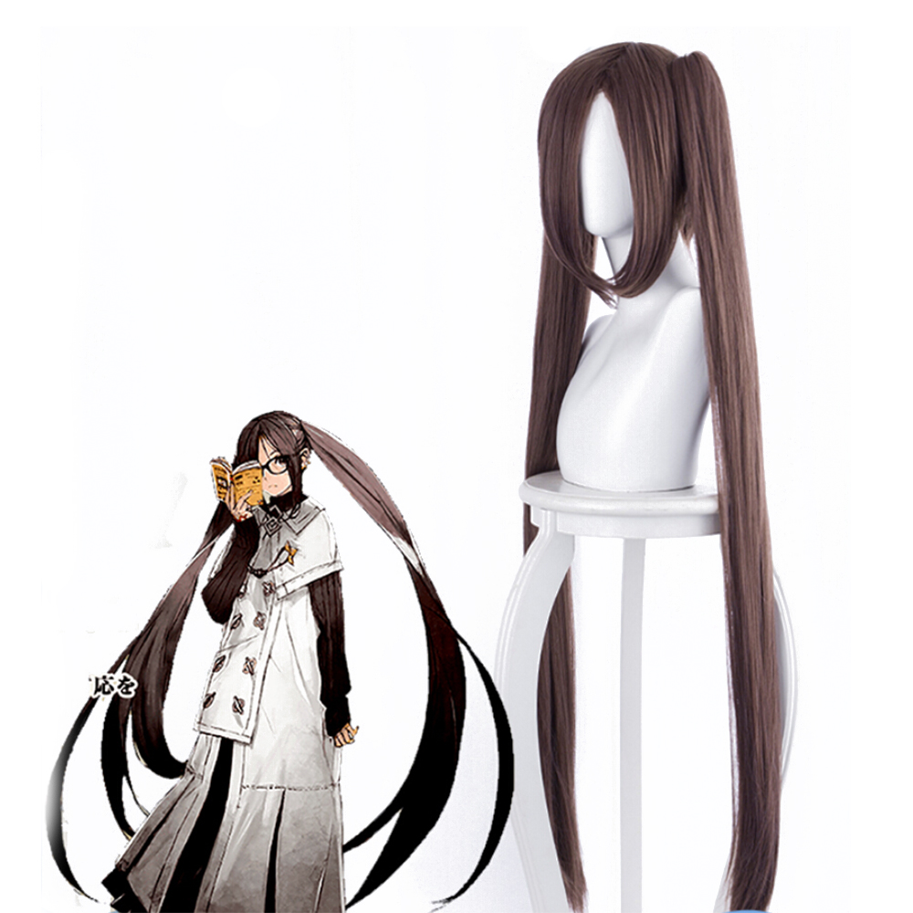 Fate Grand Order Yu Miaoyi FGO Akuta Hinako Cosplay Wigs Heat Resistant Synthetic Hair 100cm