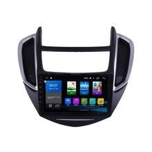 Octa Core 1024*600 Android 8.1 Car DVD GPS di Navigazione Lettore Deckless Auto Stereo per Chevrolet TRAX 2014- 2016 Radio Headunit