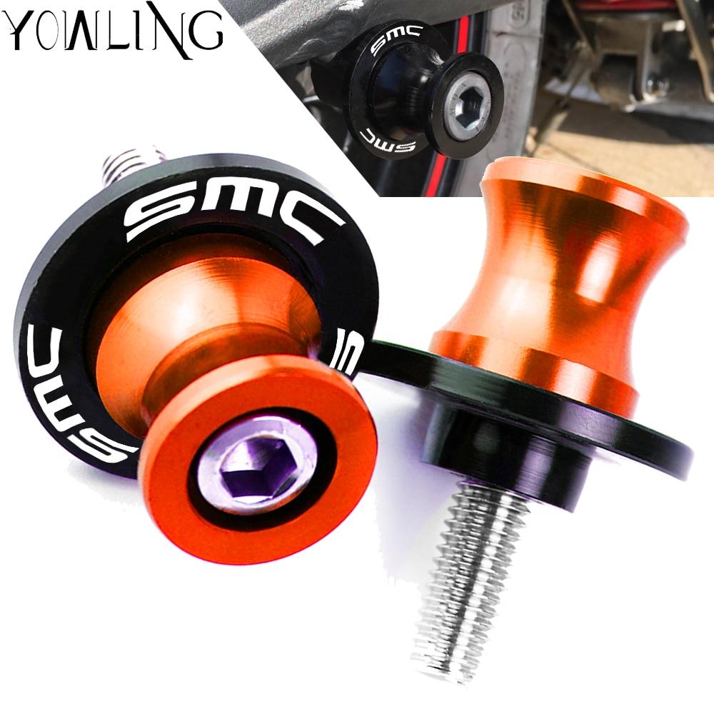 Для 690 SMC 690SMC SMC-R 690SMC-R 2009 2010 2011 2012 2013 2014 2015 2016 мотоциклетные катушки Swingarm slider M10 винты с подставкой