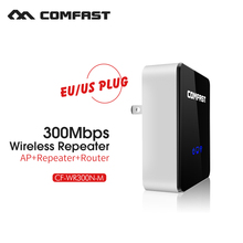 Comfast CF-WR300N Wireless N Wifi Repeater 802.11N/B/G Network Router Range Expander 300Mbps 2dBi Antenna Signal Boosters(China (Mainland))