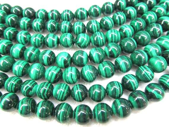 AA grade 12mm full strand genuine l malachite round ball dark green gemstone jewelry beadAA grade 12mm full strand genuine l malachite round ball dark green gemstone jewelry bead