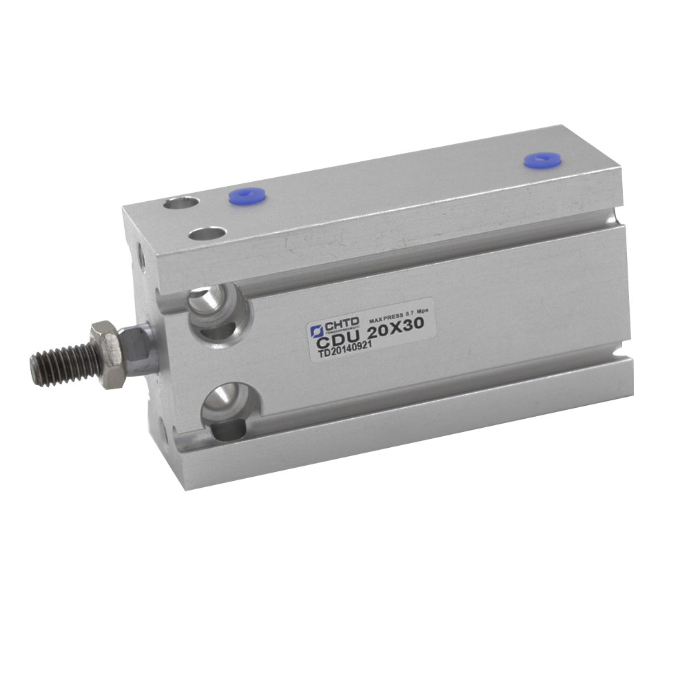 Free Shipping Aluminum Alloy CDU Type Pneumatic Cylinder 20mm Bore 5/10/15/20/25/30/35/40/45/50mm Stroke Air Cylinder free shipping cdu 20 5 male thread single rod air pneumatic cylinder cdu 20 5