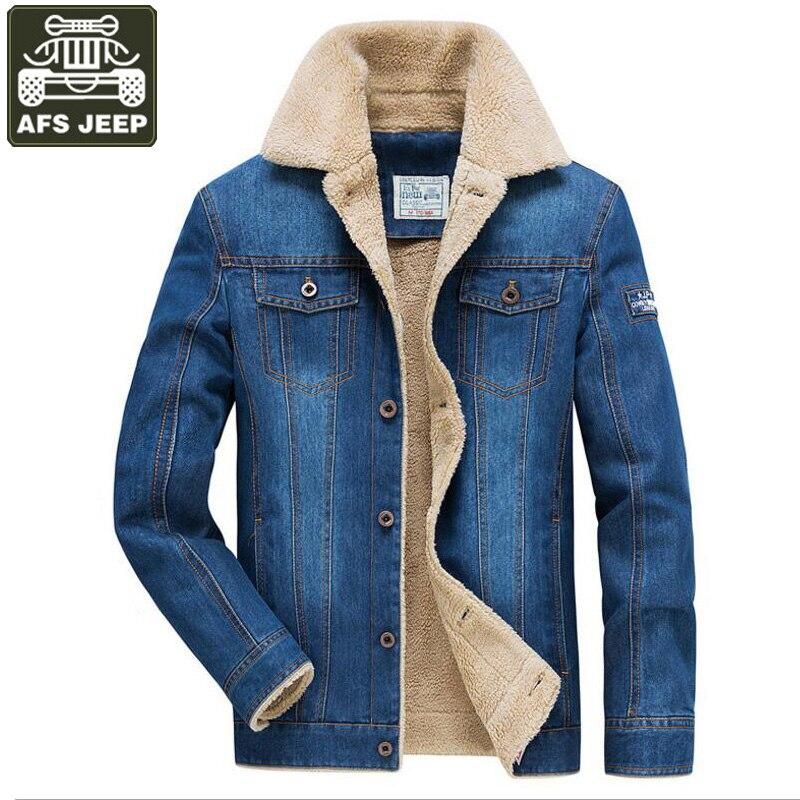 78070c29b9e0f M Breasted 4xl Tamaño Hombres Gruesa Polar Blue Forro Blue Jeans Denim  Chaqueta Mens Caliente light Cazadora Dark Solo Grande Chaquetas Invierno  waqvSZn