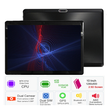 CARBAYTA 2018 S119 10.1′ Tablets Android 8.0 Octa Core 32GB 64GB ROM Dual Camera 8MP Dual SIM Tablet PC Wifi GPS bluetooth phone