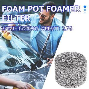 Image 4 - 1 adet paslanmaz çelik köpük aparatı yedek filtre parçaları yüksek kaliteli Lance örgü Tablet kar köpük jeneratörü araba aksesuarları