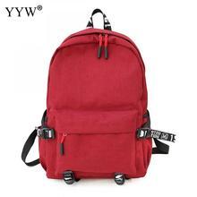 YYW Backpacks Women Nylon Bagpack Soft Back Solid Bag Fashion Casual Rucksack School for Girls Large Capacity Backpack