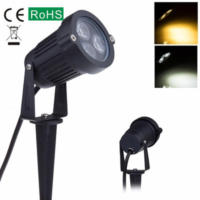 Outdoor LED Lawn Lamp, Grass Garden Tree Light Wash Wall Lamp Waterproof Plug  Lamp Lighting