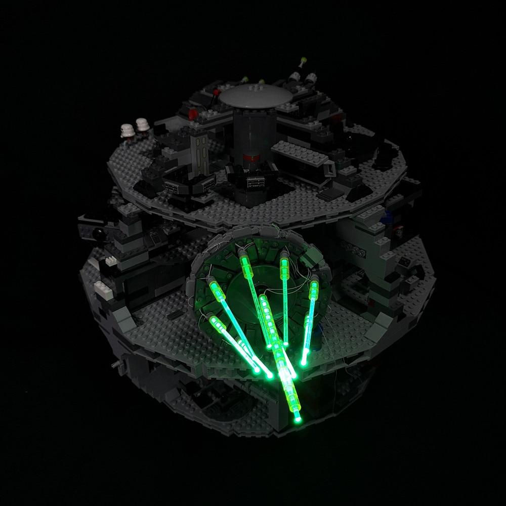 LED Light Kit For LEGO 10188 Star War Death Star Building Blocks Lighting Set