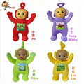 4PCS/set High-quality 33cm Teletubby Plush Toy Doll Teletubbies Laa Tinky  Plush toy For Christmas gifts Free Shipping
