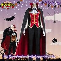 My Hero Academia Anime Cosplay Todoroki Shoto Cosplay Costume Halloween Costumes Uniforms Suits Coat+Shirt+Vest+Pants+Cloak