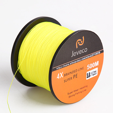 JEVECO 500M Super PE Braided Multifilament Fishing Line 8LB 10LB 20LB 30LB 40LB 60LB Braided Line Fishing