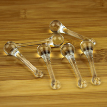 10pcs Clear Raindrops Crystal Chandelier Parts 16*60mm, Lamp Glass Hanging Pendants,Crystal Beads Curtain Accessories